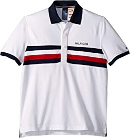 Polo Shirt with Magnetic Buttons Custom Fit