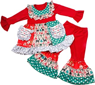 Best baby girl outfits with ruffles Reviews