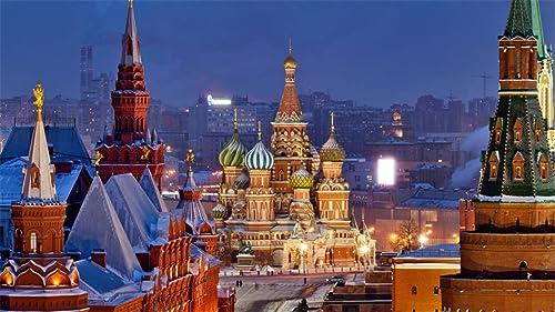 ventas en linea Rompecabezas De 1000 Piezas Vista De De De La Catedral De Moscú Rompecabezas De Juegos De Bricolaje 1000 Piezas  punto de venta barato
