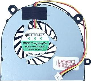(Versión 2) Ventilador Compatible con MSI CR650 (MS-16GN), GE620DX, FX600MX, FX610, CX61 (MS-16GD), GE620 (MS-16G5), CX61 (MS-16GB), GE620, CR650