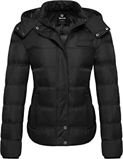 Women's Hooded Warm Winter Coat Quilted Thicken Puffer...