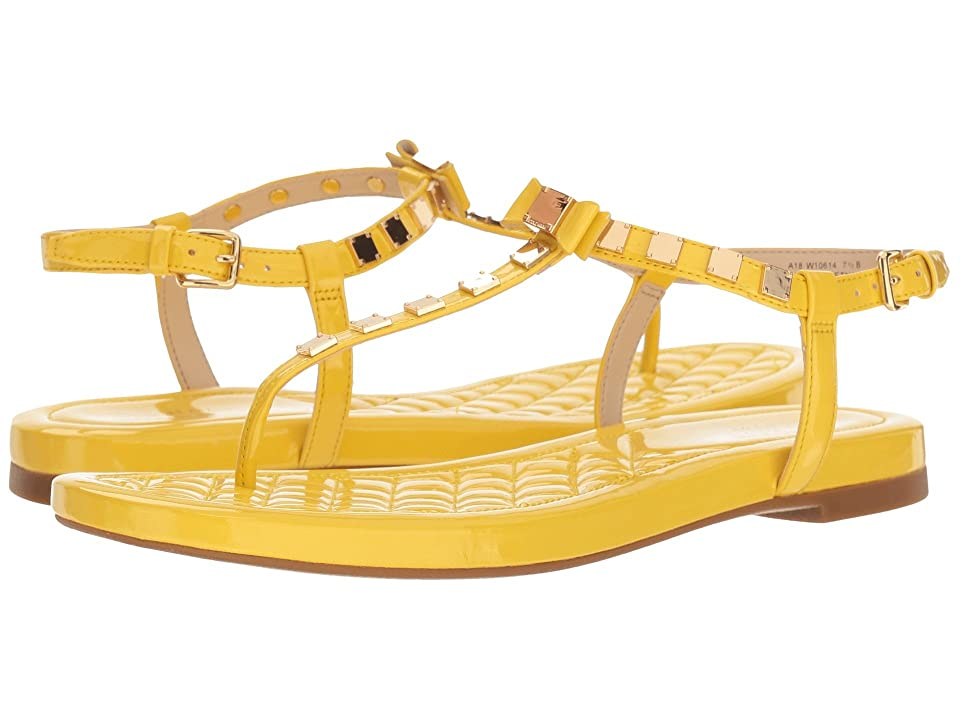 Cole Haan Tali Mini Studded Sandal (Habanero Gold Patent) Women's Sandals