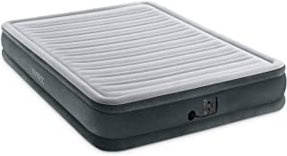 Best Comfort Quest Queen Air Mattress With Built-in Pump For Guest, Dark Blue Reviews [2020]