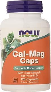 Now Foods Cal-Mag Caps Standard - 120 Cápsulas