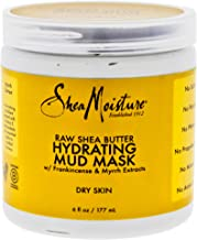Shea Moisture Raw Butter Hydrating Mud Mask for Unisex, 6 Ounce
