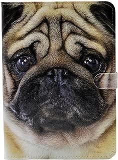 Unique Cute Pug Puppy Dog Pattern Leather Flip Slim Book Shell Stand Case Cover for ipad Mini 1 2 Retina ipad Mini 3