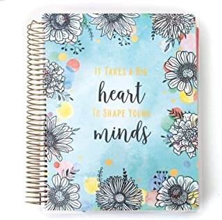 Paper House Productions PL2002 Teacher Edition 12 Month Planner Undated Laminated Cover