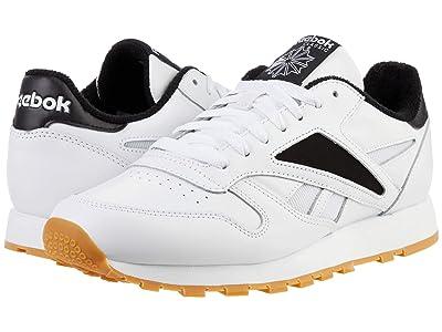 Reebok Lifestyle Classic Leather Mark (White/Black/White) Men