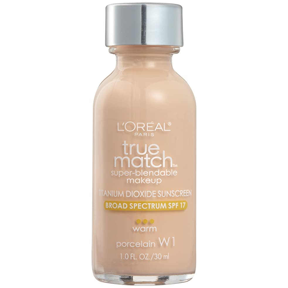 シロクマインカ帝国リゾートL'OREAL TRUE MATCH SUPER-BLENDABLE MAKEUP #W1 PORCELAIN