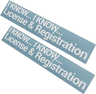 Best license registration sticker Reviews