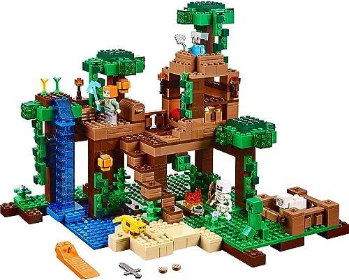 autentico en linea LEGO Minecraft The Jungle Tree House 21125 by LEGO LEGO LEGO  diseños exclusivos