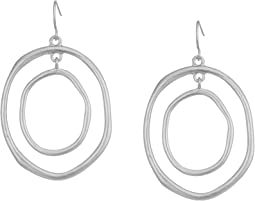 The Sak Large Metal Orbit Earrings
