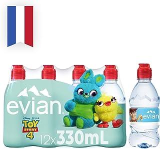 Evian Natural Mineral Water Kids, 12 x 330ml