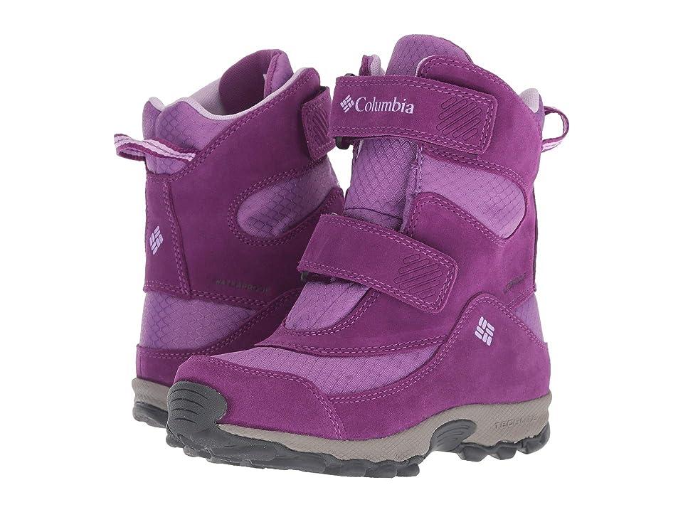 Columbia Kids Parkers Peaktm Boot (Little Kid/Big Kid) (Crown Jewel/Phantom Purple) Girls Shoes