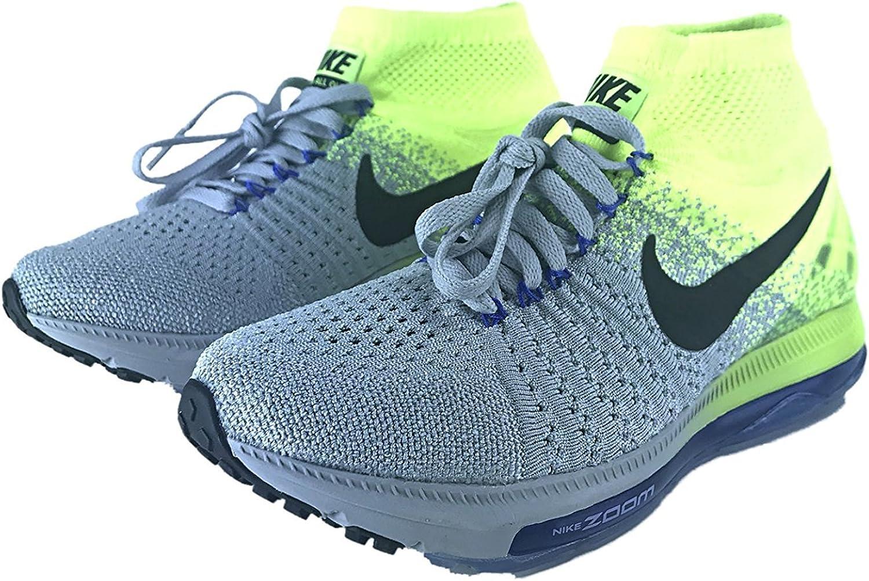 NIKE Woherrar Zoom All Out flygande skor, skor, skor, Wolf grå  svart Volt, 8.5 B.M. USA  upp till 70% rabatt