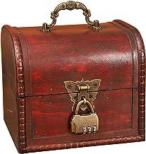 djim45aoy Storage Box Decorative Exquisite Jewelry Case 5 Styles Durable E
