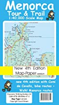 Menorca Tour and Trail Map