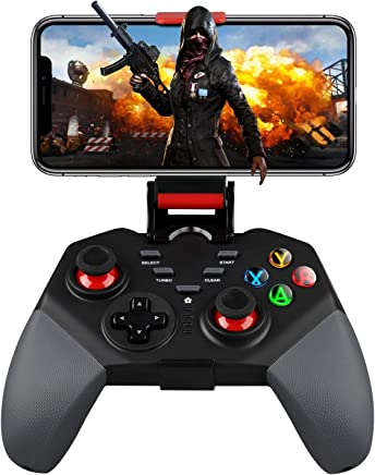 EEEKit Mobile Game Controller, Wireless Gaming Controller Wireless 4.0 Gamepad Compatible with iOS Android iPhone iPad Samsung Galaxy