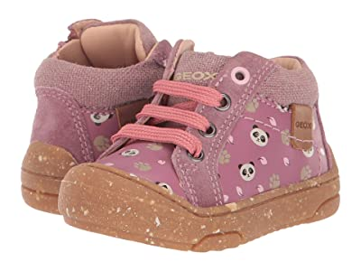Geox Kids Geox x WWF Jay J 3 (Infant/Toddler) (Dark Pink) Girls Shoes