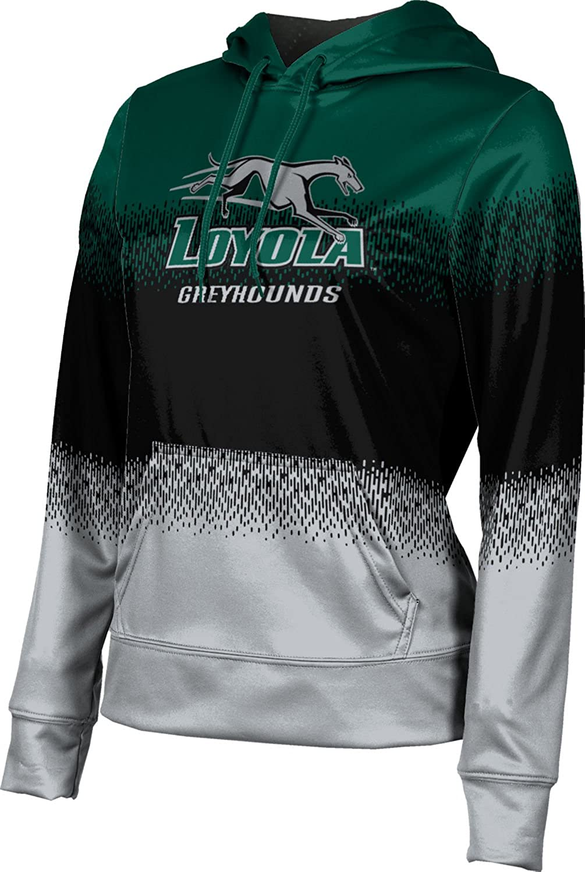 ProSphere Loyola University Maryland Girls' Pullover Hoodie, School Spirit Sweatshirt (Drip)