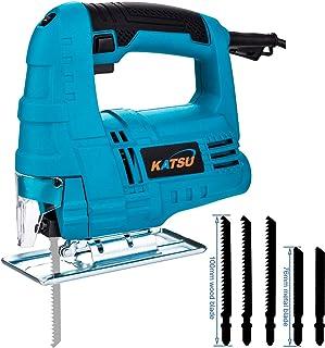 KATSU Electric Jigsaw 400W Variable Speed Plastic Wood Steel Cutting