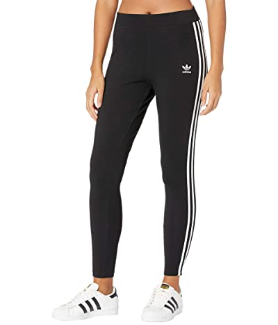 adidas Originals 3 Stripes Tights (Black 2) Women