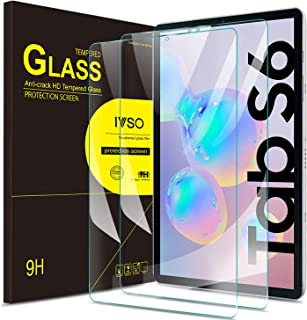 Samsung Galaxy TAB S6 10.5 SM-T860/T865 2019 Screen Protector Glass, IVSO Premium 9H Hardness HD Tempered-Glass Film Screen Protector for Samsung Galaxy TAB S6 10.5 SM-T860/T865 2019 Tablet, 2 Pack
