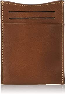 Tony Perotti Italian Leather Money Clip Wallet With Credit Card Slots