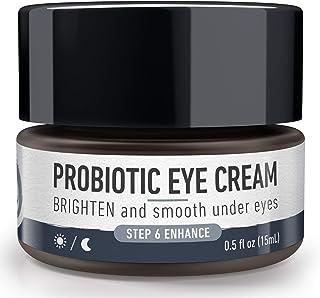 Foxbrim Naturals Brightening Probiotic Eye Cream -Under Eye Moisturizer-For Dark Circles, Puffiness and Fine Lines - Anti ...