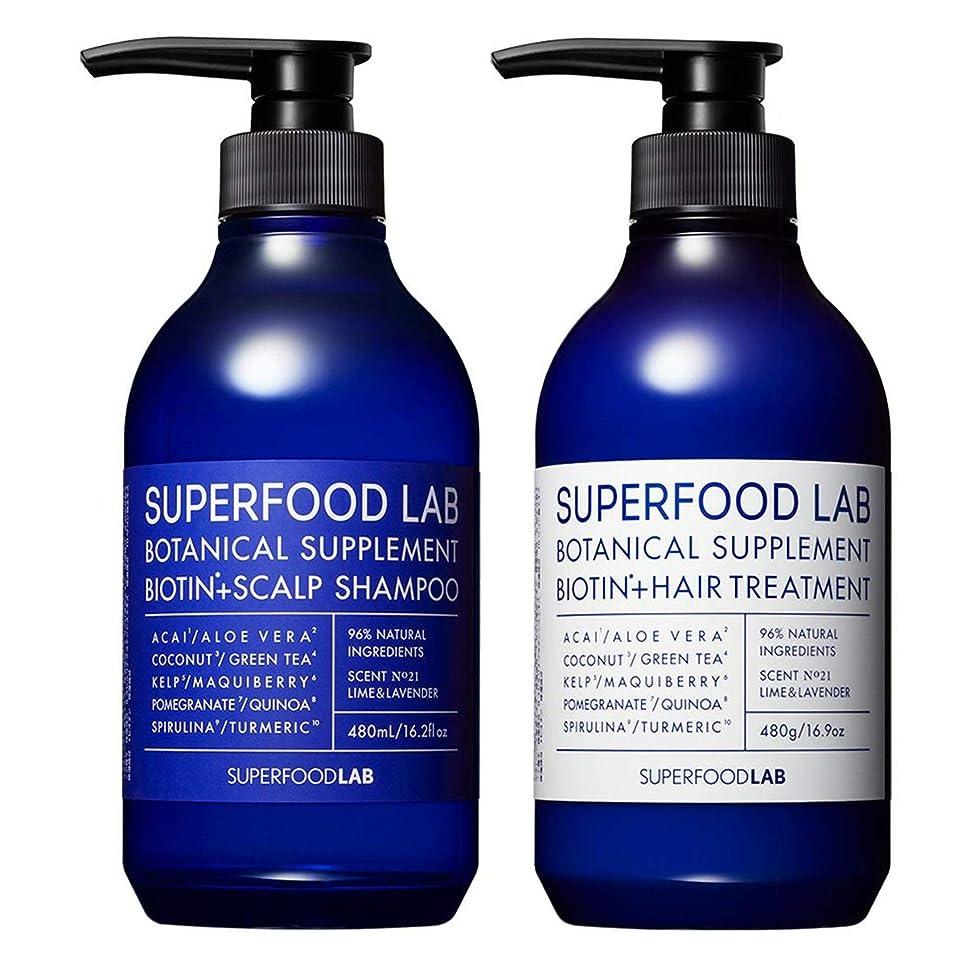 香り知事デイジーSUPERFOOD LAB BIOTIN + SCALP SHAMPOO & TREATMENT