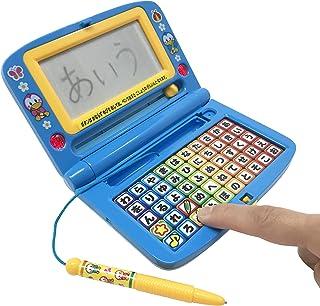 楽しくあそんdeあいうえお ボタンを押すと声が出る 音が鳴る ライトが光る 字が書ける 書く押す聞く 子ども おもちゃ (ブルー)