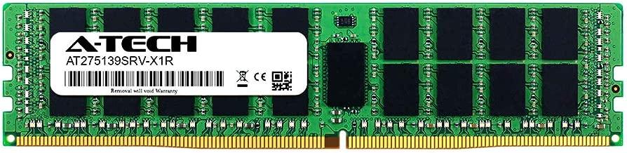 A-Tech 16GB Module for ASRock Fatal1ty X99 Professional - DDR4 PC4-21300 2666Mhz ECC Registered RDIMM 1rx4 - Server Memory Ram (AT275139SRV-X1R4)