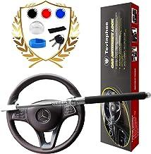 Tevlaphee Steering Wheel Lock for Cars,Wheel Lock,Vehicle Anti-Theft Lock,Adjustable..