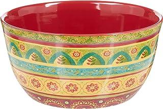 "Certified International Tunisian Sunset Deep Bowl, 11"" x 5.5"", Multicolor"