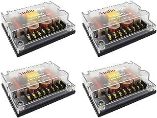 4 Pc 3 way Crossover CRX-303 300 Watts Passive Crossover Car Audio Tweeter