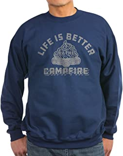 Life is Better by The Campfire - Classic Crew Neck Sweatshirt