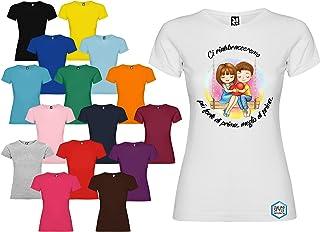 Maglietta personalizzata donna Ci rabbracceremo più forte di prima