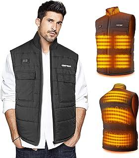 Heated Vest for Men/Women, Collar Heating Jacket Heater Waistcoat for Outdoor