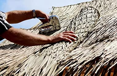 "IAM Tiki Man TS-3630 Mexican Palm Thatch Runner Roll 36"" X 30' Fast Shipping"