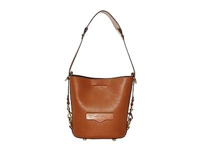 Rebecca Minkoff Small Utility Convertible Bucket (Equestrian) Handbags