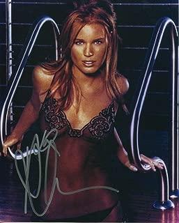 Rebecca Romijn Signed Autograph X-Men Femme Fatale Color 8x10 Photo W COA pj4