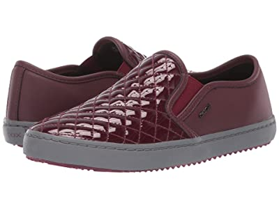 Geox Kids Jr Kalispera 27 (Big Kid) (Bordeaux) Girls Shoes