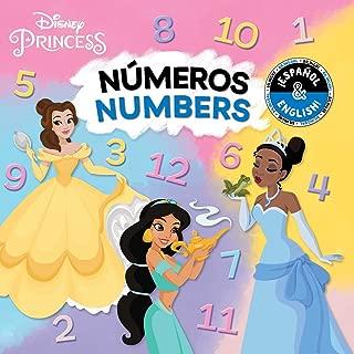 Numbers / Números (English-Spanish) (Disney Princess) (2) (Disney Bilingual)