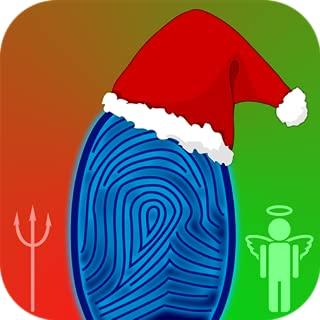 Naughty or Nice Fingerprint Scanner