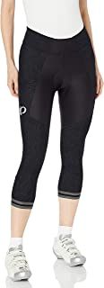 PEARL IZUMI W Elite Escape 3Qtr Tight,  Black Phyllite Texture,  Medium