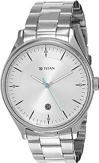Titan Autumn-Winter 20 Analog Silver Dial Men's Watch 1834SM01/NN1834SM01