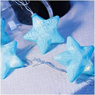 MIYU Crack Star Garland Light String Decorative Christmas Tree Wedding New Year Fairy Hanukkah Home Holiday Party Decor Li...