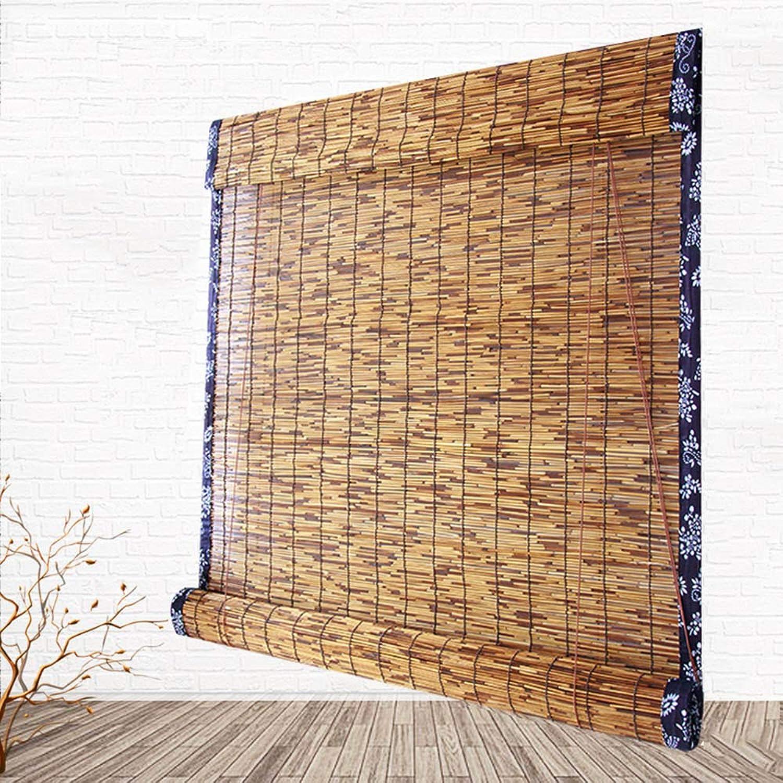 muchas concesiones Vicareer El Rodillo de bambú es Natural, persianas persianas persianas de la Ventana Romana, persianas de la Cortina de bambú Impermeable al Aire Libre a Prueba de Moho Interior Cubierta balcón  estilo clásico