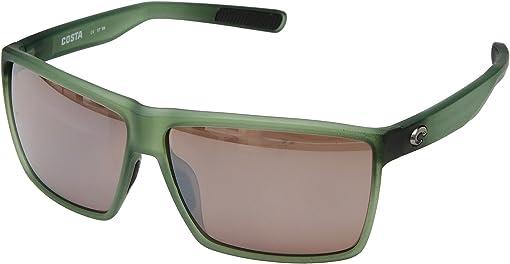 Matte Palm Green Frame/Copper Silver Mirror 580P