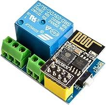 IZOKEE ESP8266 Relé con ESP8266 ESP-01S Series WiFi Transmisor-Receptor Módulo para Arduino UNO R3 Mega2560 Nano Raspberry Pi